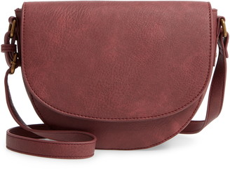 BP Faux Leather Saddle Bag