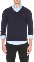Polo Ralph Lauren Slim-fit knitted cotton jumper