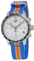 Tissot Men's 'Quickster' Swiss Quartz Stainless Steel and Nylon Automatic Watch, Multi Color (Model: T0954171703706)