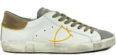 Philippe Model White Leather Paris X Sneakers