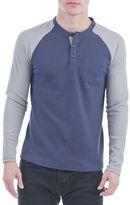Sovereign Code Jeter Colorblocked Henley Shirt