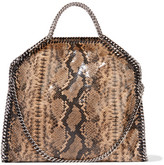 Stella McCartney The Falabella Snake-print Faux Leather Shoulder Bag - Snake print
