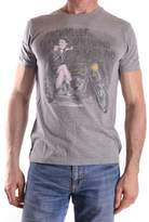 Fred Perry Men's Grey Cotton T-shirt.