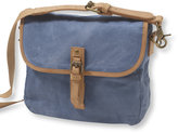 L.L. Bean Mountain Town Waxed Canvas Crossbody Bag