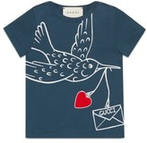 Gucci Infant Girl's Bird Graphic Tee