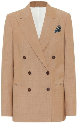Brunello Cucinelli Stretch-wool blazer