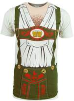 Impact Octoberfest Oktober Shirt German Lederhosen Costume Hairy Chest Mens October (L)