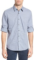 James Campbell Men's Coggan Regular Fit Check Sport Shirt