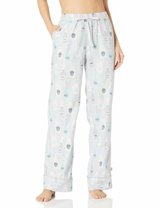 Munki Munki Women's Flannel Pj Pants with Pockets