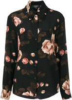 Rochas rose print shirt