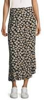 Ganni Montrose Crepe Skirt