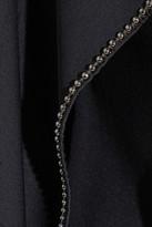 Bottega Veneta Chain-trimmed draped jersey gown