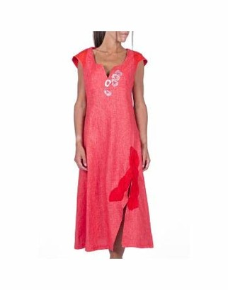 ELISA CAVALETTI by DANIELA DALLAVALLE EJP212031600 Long Dress Heart Red - Red - S