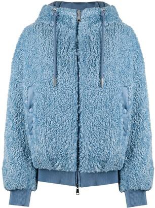Moncler Reversible Shearling Puffer Jacket