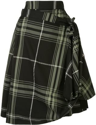 Vivienne Westwood Plaid Blanket Skirt