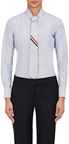 Thom Browne Women's Cotton Necktie Shirt-NAVY