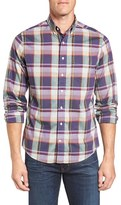 Gant Men's Heath Trim Fit Broadcloth Sport Shirt