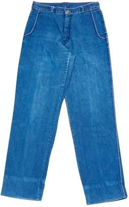 Valentino Blue Cotton Jeans