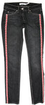 Etoile Isabel Marant Patterned Skinny Jeans