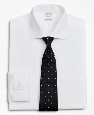 Brooks Brothers Stretch Soho Extra-Slim-Fit Dress Shirt, Non-Iron Poplin English Collar