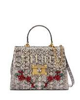 Gucci Iside Future Snakeskin Top Handle Bag