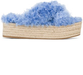 Miu Miu platform espadrille sandals