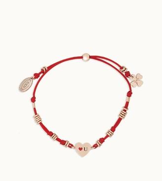 Tod's Loves You Cord Bracelet