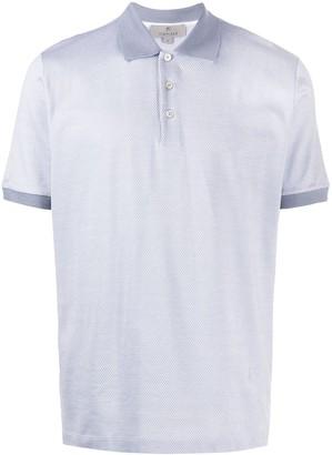 Canali Woven Polo Shirt