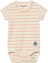 Mini Rodini Pink Stripe Rib Body