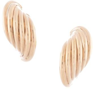 Céline Pre Owned Pre-Owned Wrap Hoop Earrings