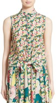 Lafayette 148 New York Women's Tisha Floral Silk Blouse