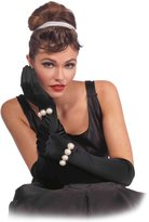 Forum Novelties Inc. Forum Novelties Vintage Hollywood Long Gloves with Pearls