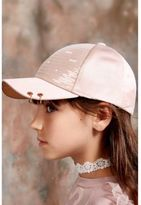 River Island Girls pink RI Studio sequin cap