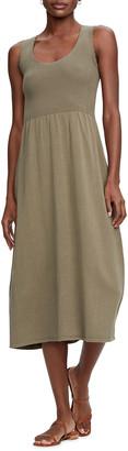 Michael Stars Irene Scoop-Neck Midi Dress