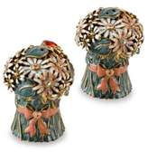 Bed Bath & Beyond Quest Gifts and Design Bouquet Salt and Pepper Shaker Set in White