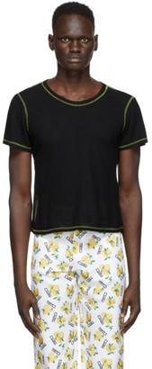 Phlemuns Black Backless T-Shirt