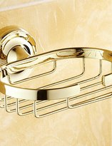 YSDS Soap Dish / Polished Brass / Wall Mounted /15*8*10 /Brass /Antique /15 8 0.31 JTWM