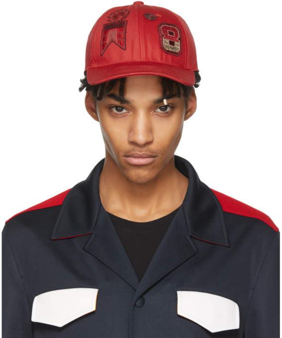Valentino Red Garavani Embroidered Cap