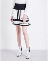 Etoile Isabel Marant Rhoda striped cotton mini skirt