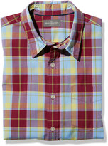 L.L. Bean Men's Signature Washed Poplin Shirt, Plaid