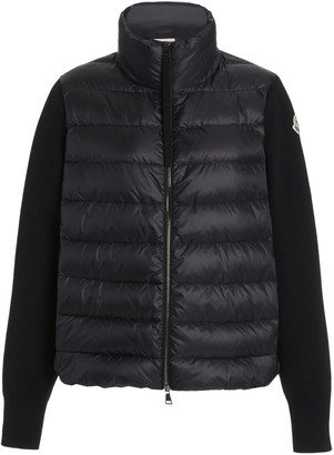 Moncler Wool-Trimmed Down Puffer Jacket