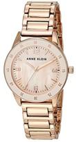 Anne Klein Bracelet Watch (Rose Gold-Tone) Watches