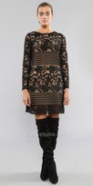 Julian Chang Vanessa Long Sleeve Lace Dress