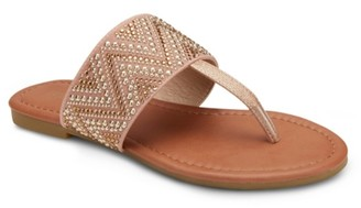 OLIVIA MILLER Revved Up And Ready Sandal