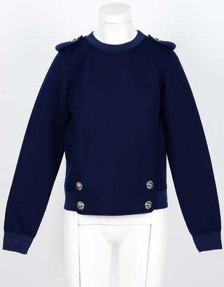 Love Moschino Women's Blue Sweatshirt