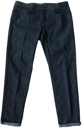 Christopher Kane Multicolour Cotton Trousers