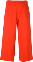 P.A.R.O.S.H. wide leg cropped trousers - women - Polyester - XS