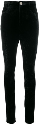 ATTICO High-Waist Fitted Trousers