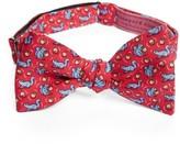 Vineyard Vines Men's Squirrel Silk Bow Tie