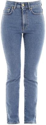 Chiara Ferragni Flirting Straight Leg Jeans
